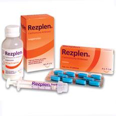 Rezplen Claritromicina Antibiotico Suspension Senosiain Rx