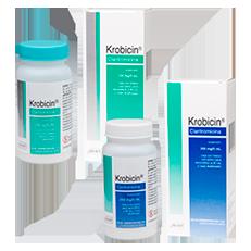 Krobicin Claritromicina Antibiotico Suspension Mavi Rx